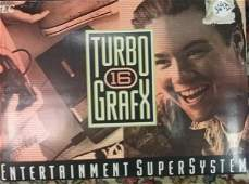 1980s TurboGrafx 16 Entertainment System