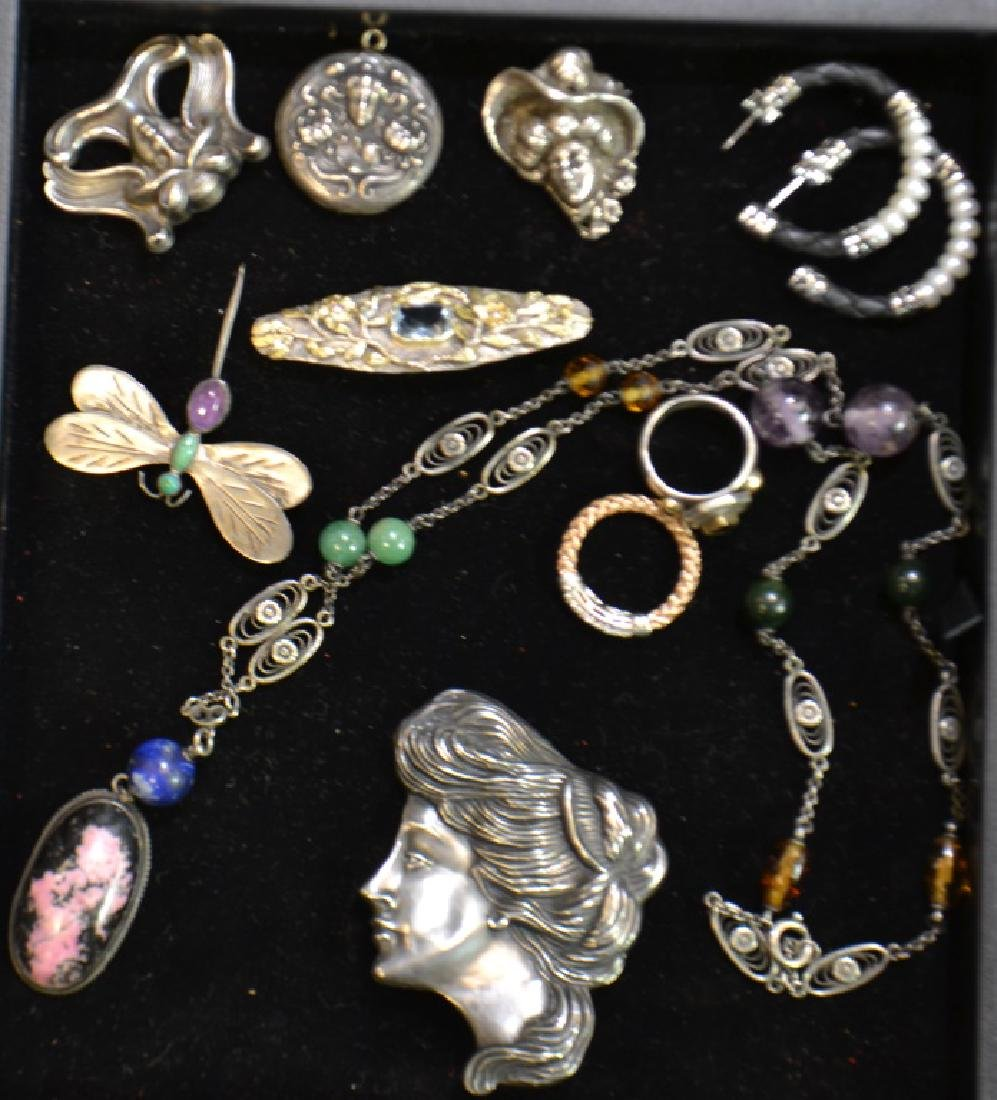 Arts and Crafts and Sterling Jewelry