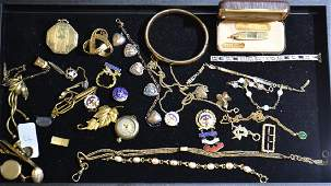 Gold Filled Jewelry Grouping