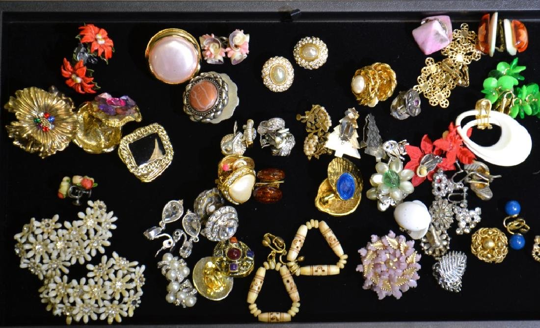Lisner and other Clip Earrings