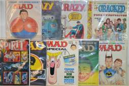 """""""Cracked"""" Comics and more"""