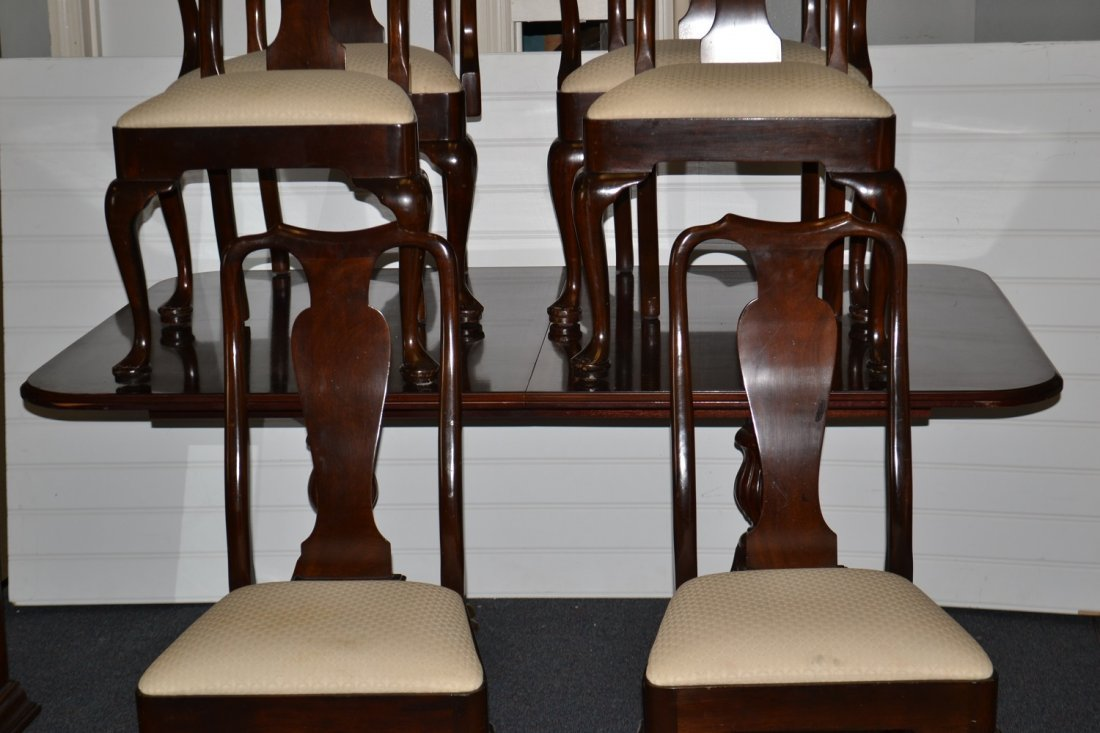 Burnhardt Dining Table & Stickley Chairs
