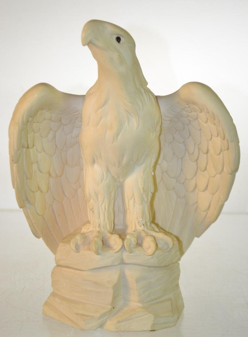 Ceramic Eagle with Glass Eyes