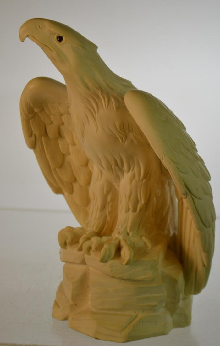Ceramic Eagle with Glass Eyes - 2