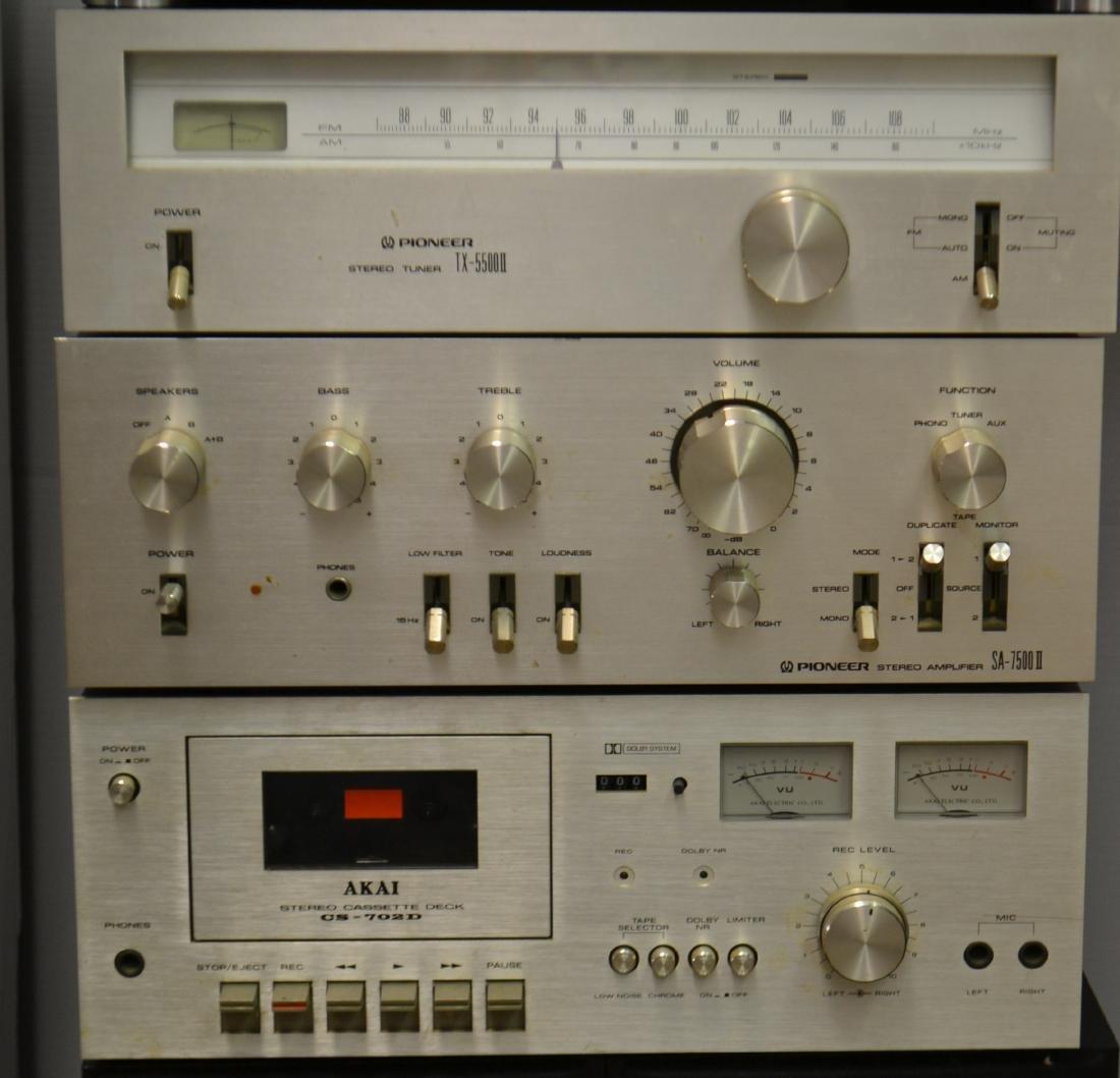 Vintage Pioneer Stereo System - 4