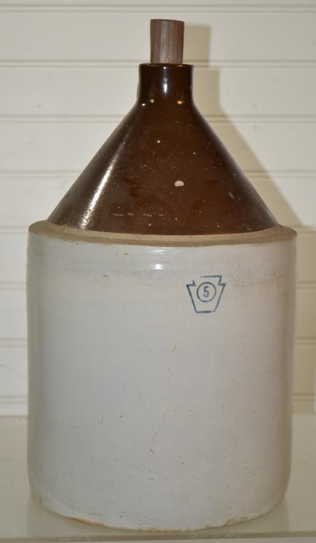 Four Gallon Pfaltzgraff Shoulder Jug