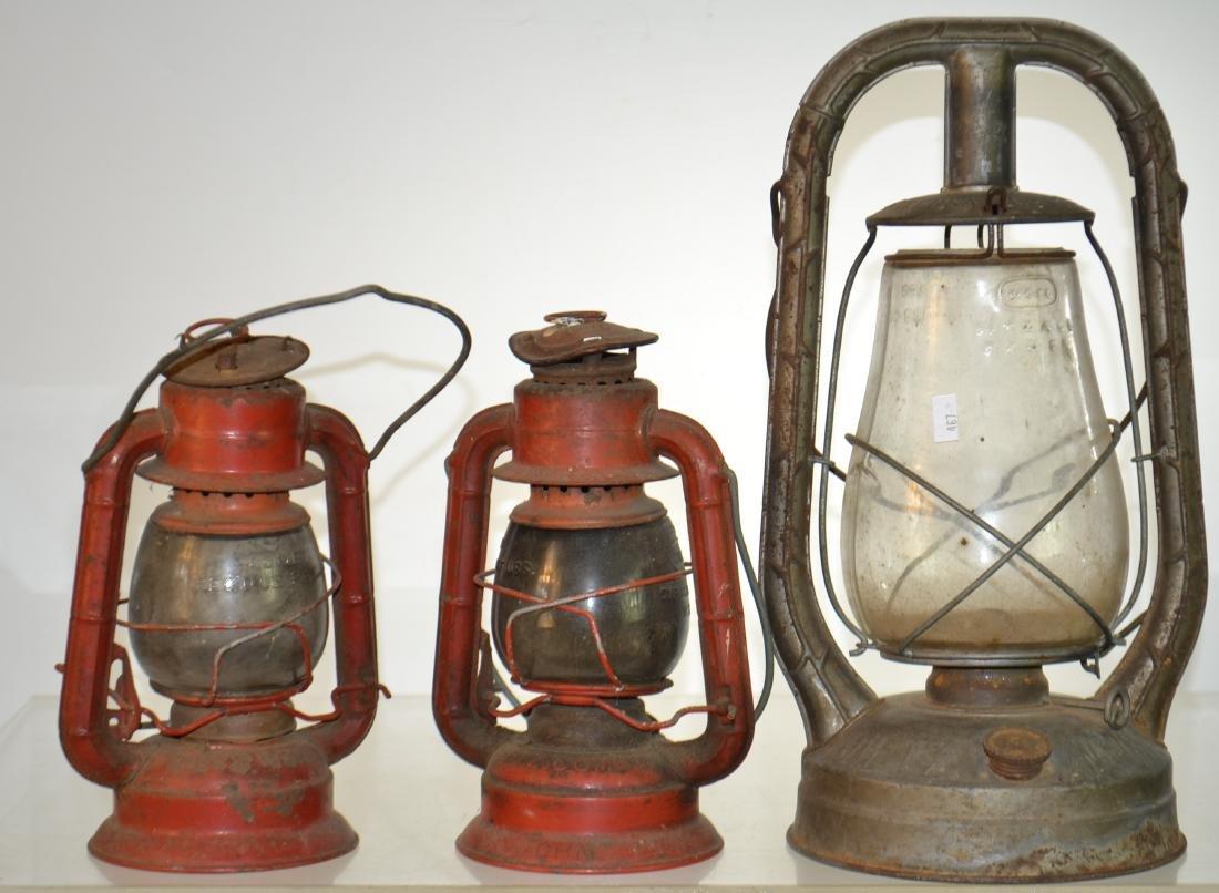 Three Dietz Lanterns