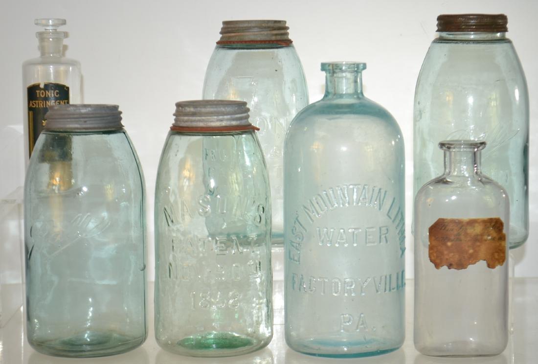 Vintage Bottles and Jars