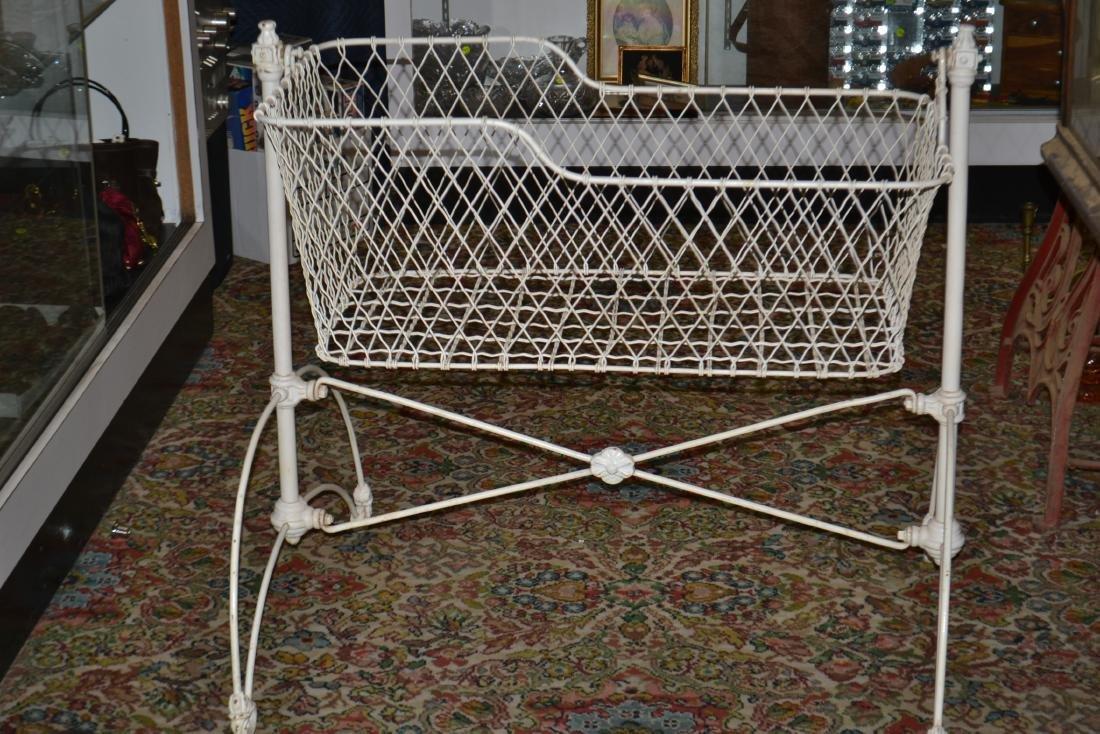 Victorian Iron Cradle