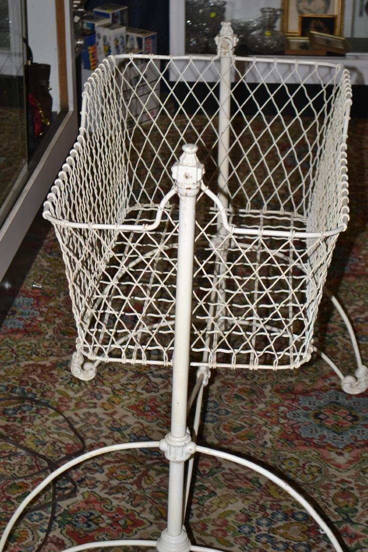 Victorian Iron Cradle - 2