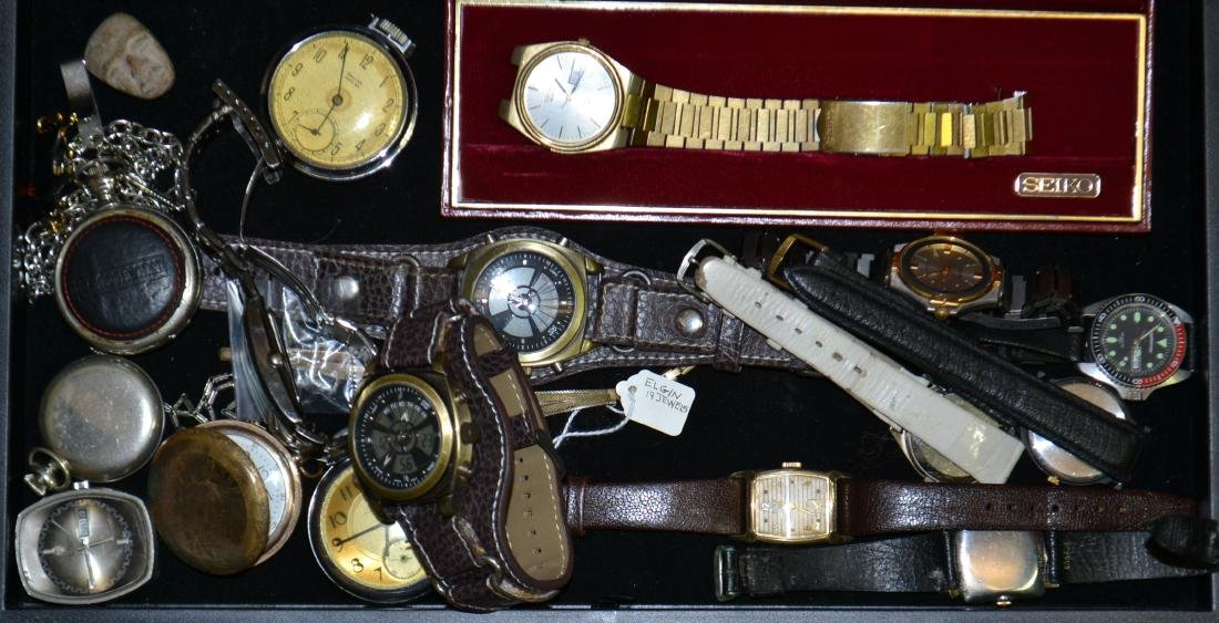 Wrist and Pocket Watches