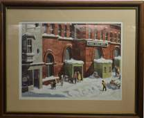 Print of York Pa Central Market House by Falkler