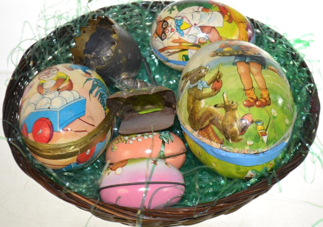 German Paper Mache Eggs and More