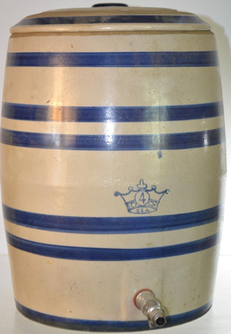 Vintage Stoneware Water Cooler