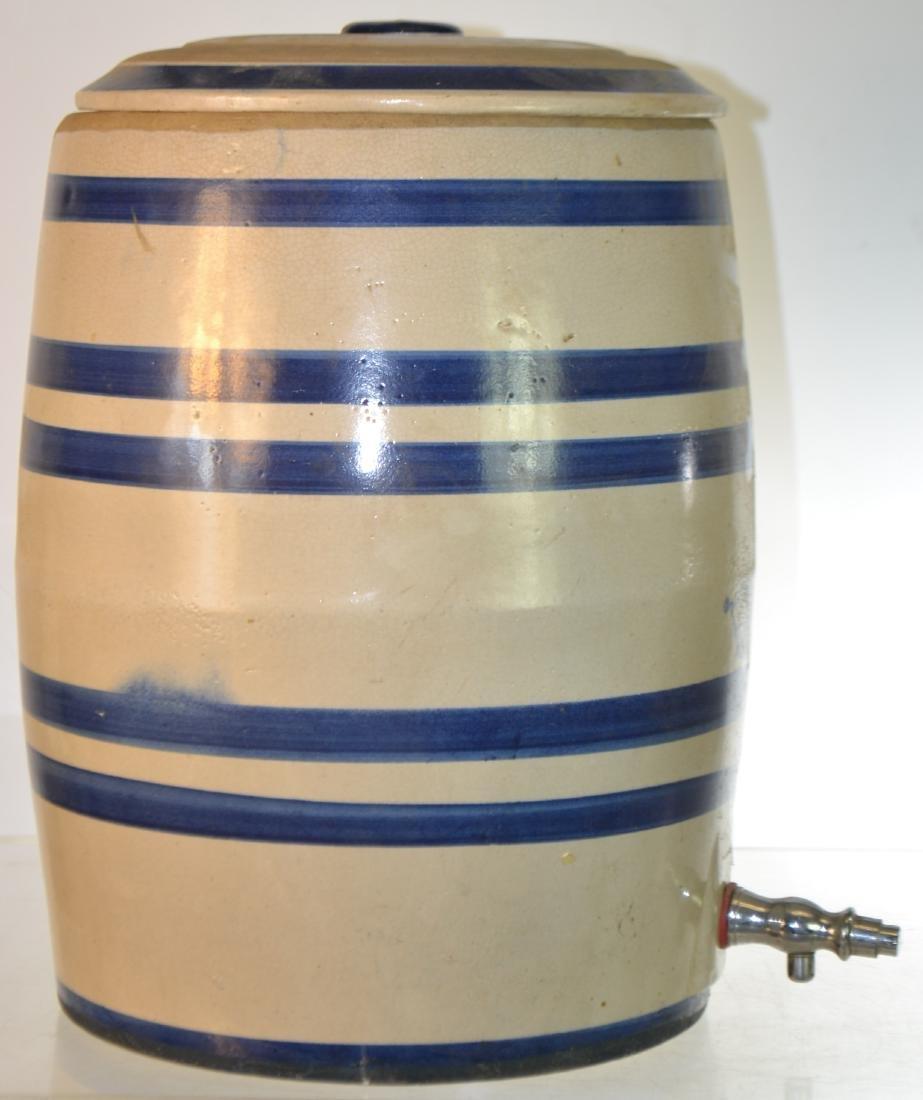 Vintage Stoneware Water Cooler - 3