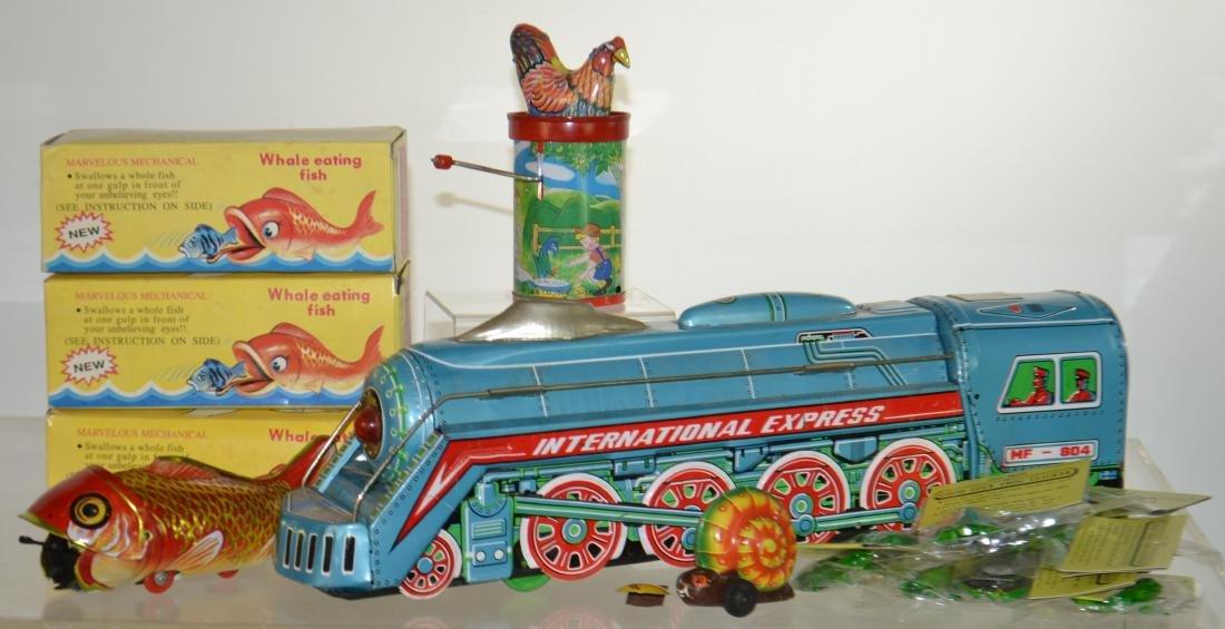 Tin Litho Toy Grouping
