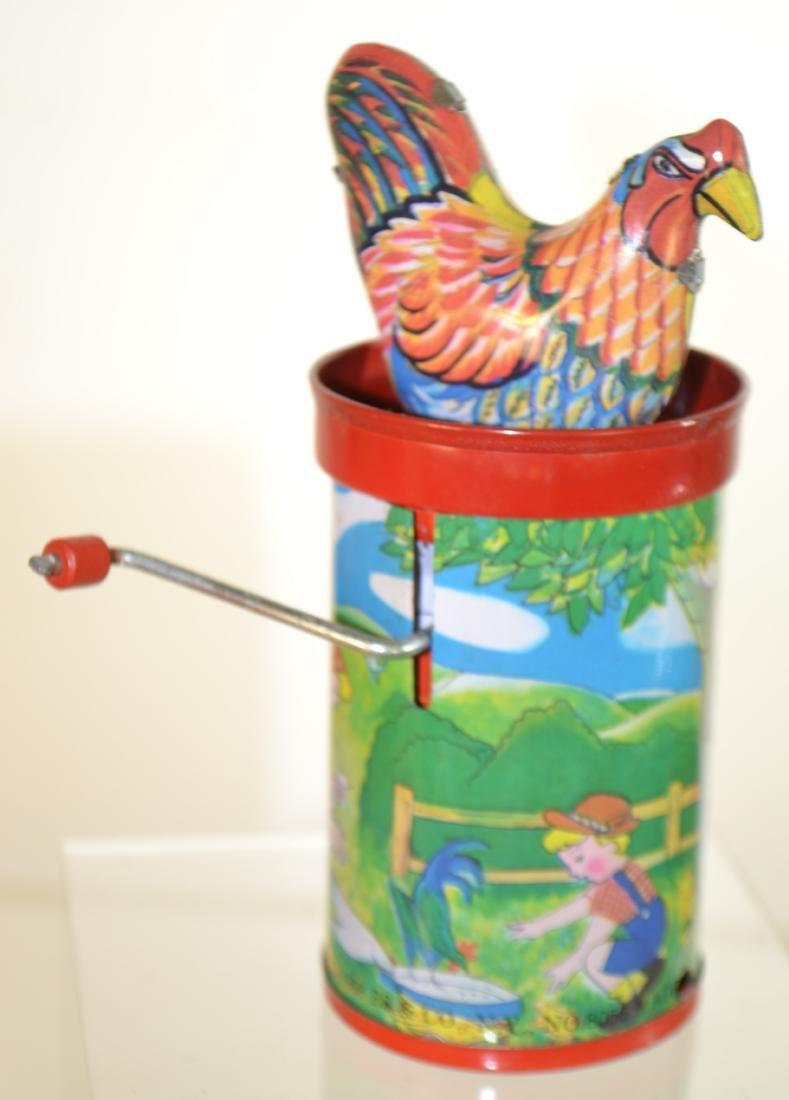 Tin Litho Toy Grouping - 3