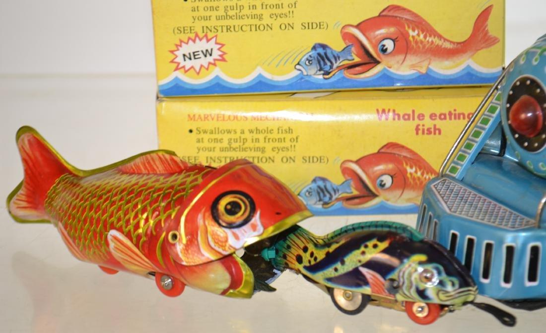 Tin Litho Toy Grouping - 5