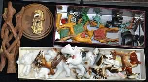 Ceramic Animals and More