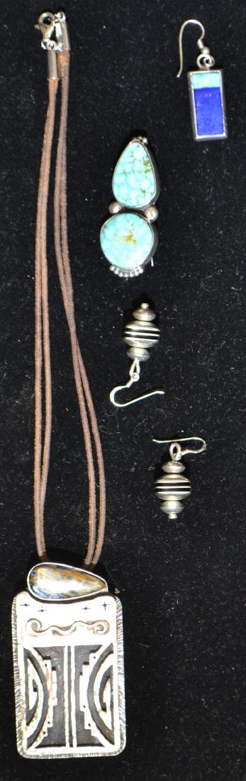 Signed Native American Sterling Jewelry