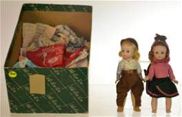 Vintage Dolls and Doll Clothing