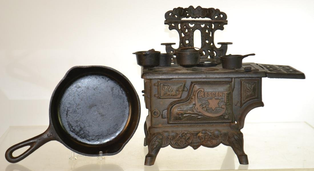 Miniature Crescent Stove and More