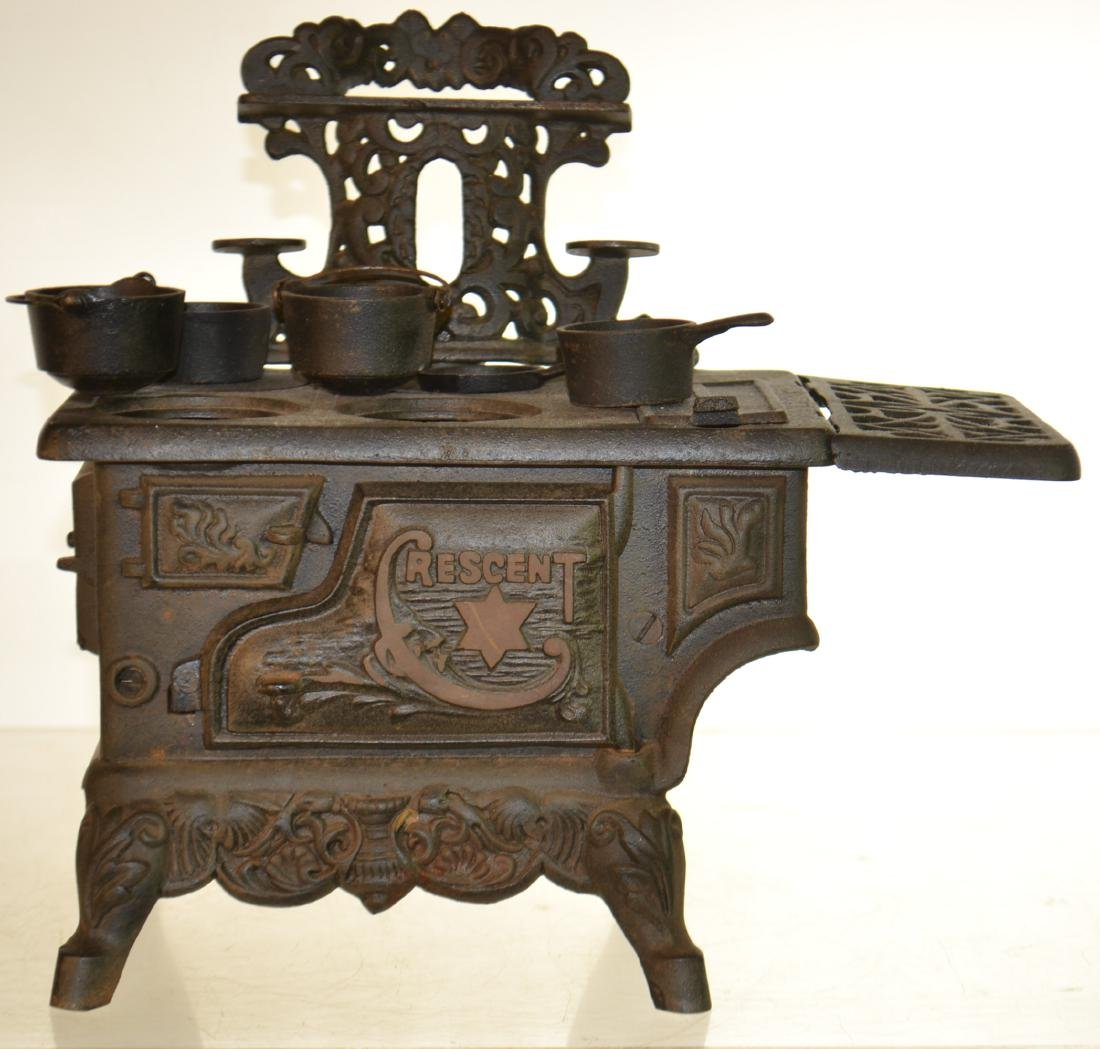 Miniature Crescent Stove and More - 3