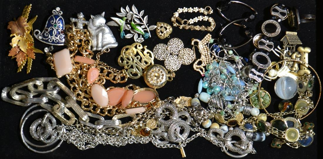 Pins, Necklaces and More