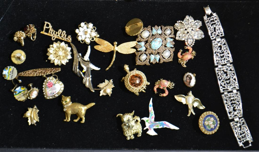 Brooches and Pins