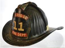 Early 20th Century Firemans Helmet