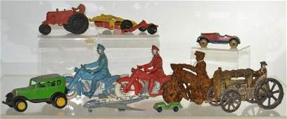 Vintage Toy Grouping
