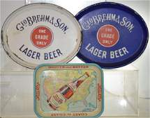 Geo Brehm & Son Beer Trays and More