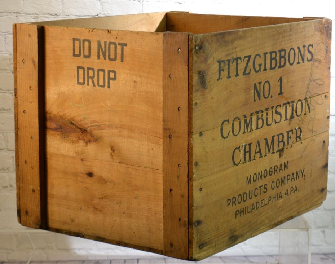 """Fitzgibbons"" Advertising Crate - 2"