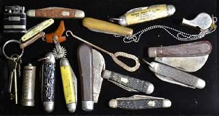 Vintage Pocket Knives and More