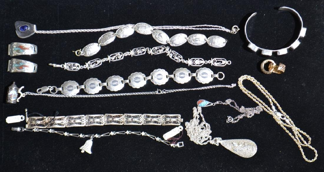 Quality Sterling Jewelry Grouping
