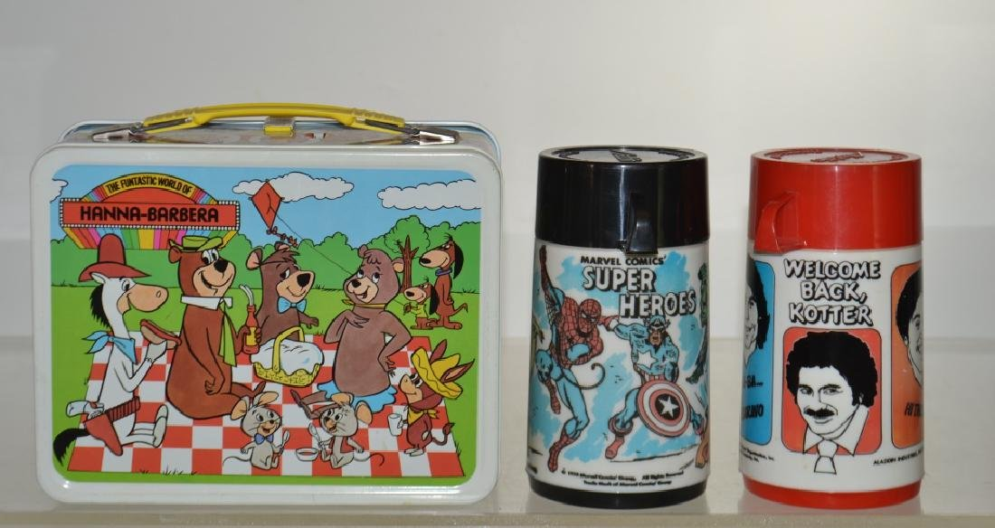 Marvel Super Hero Thermos and Others