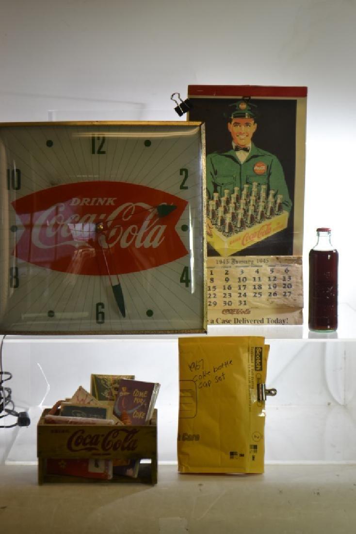 Vintage Coca Cola Clock Grouping