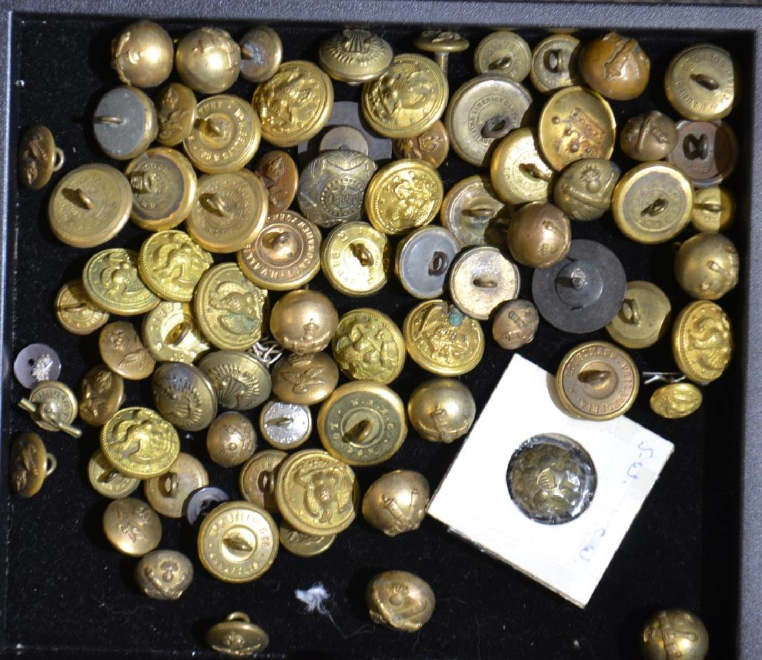 Military and Other Brass Buttons