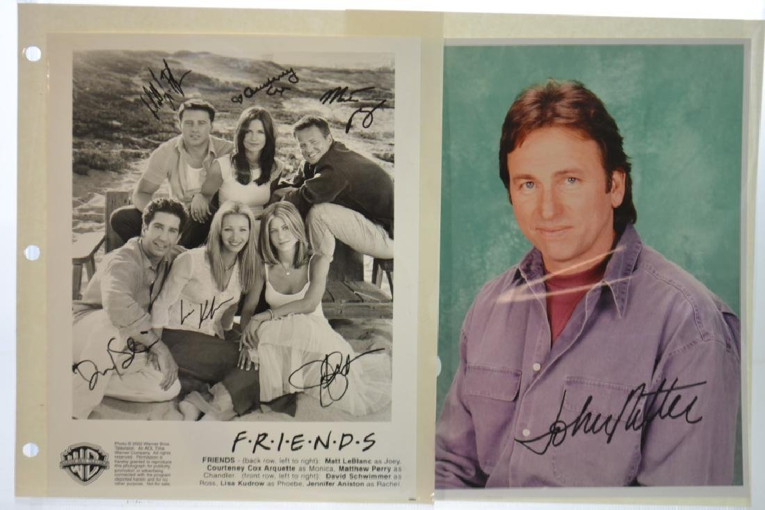 Grouping of Autographed Photos of Celebrities