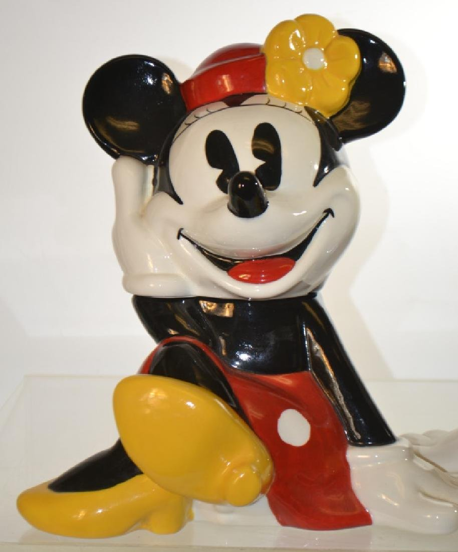 Mickey and Minnie Mouse Cookie Jars - 2