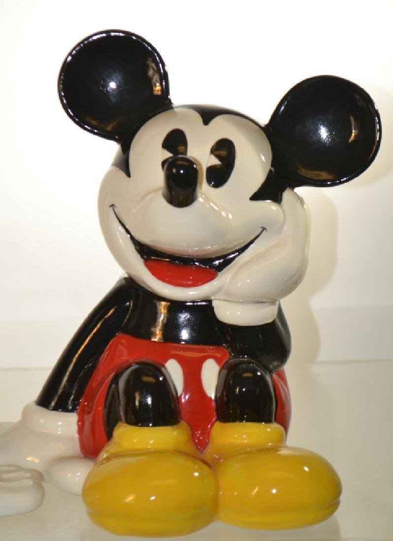 Mickey and Minnie Mouse Cookie Jars - 3
