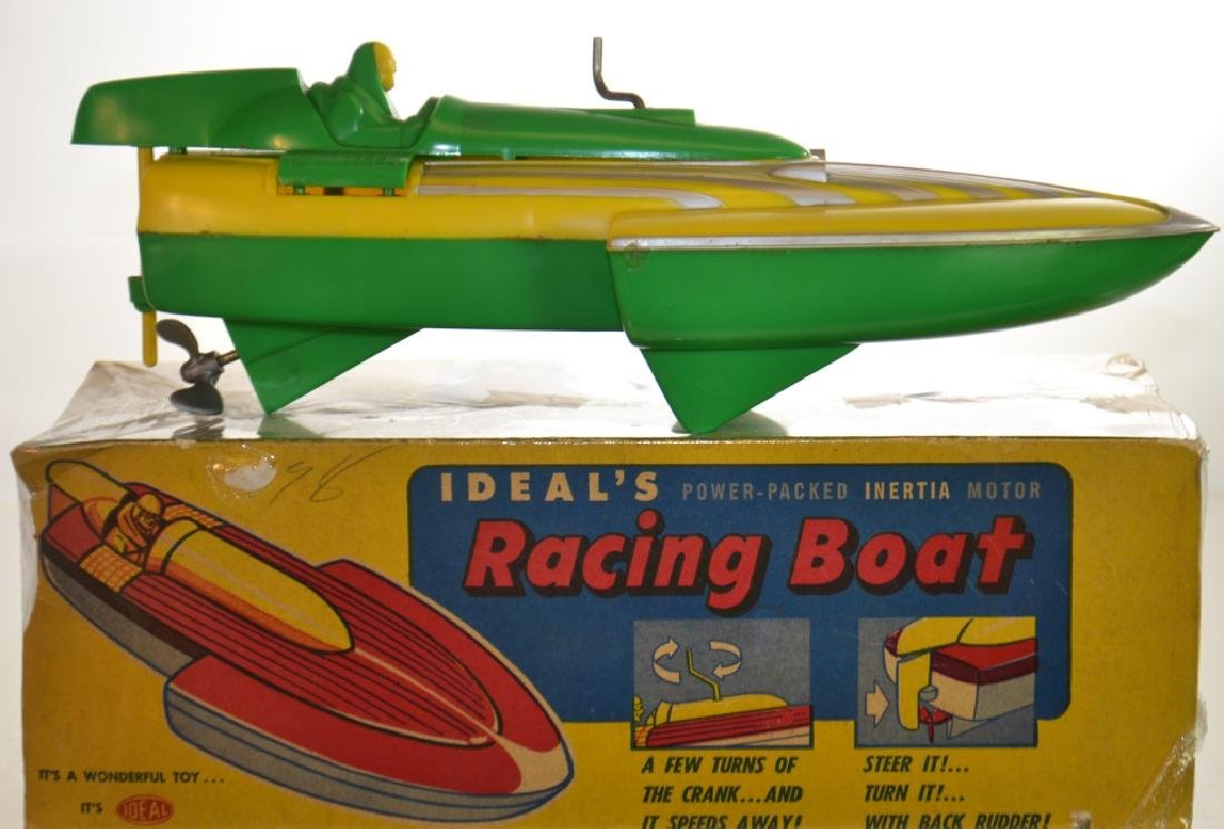 Ideal Racing Boat with Box