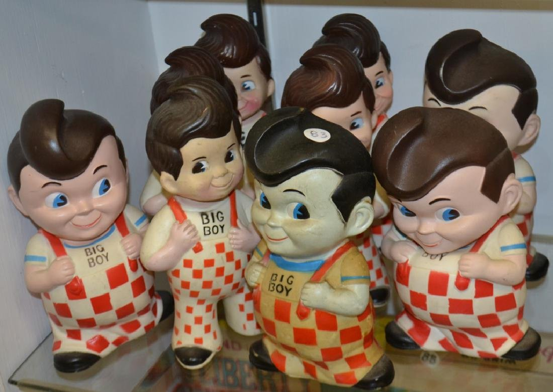 Nine Bob's Big Boy Dolls