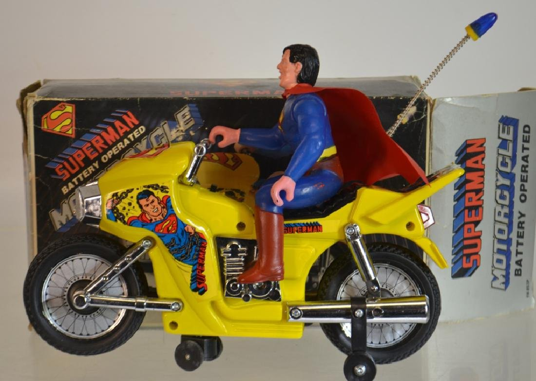 Superman Battery Operated Motorcycle
