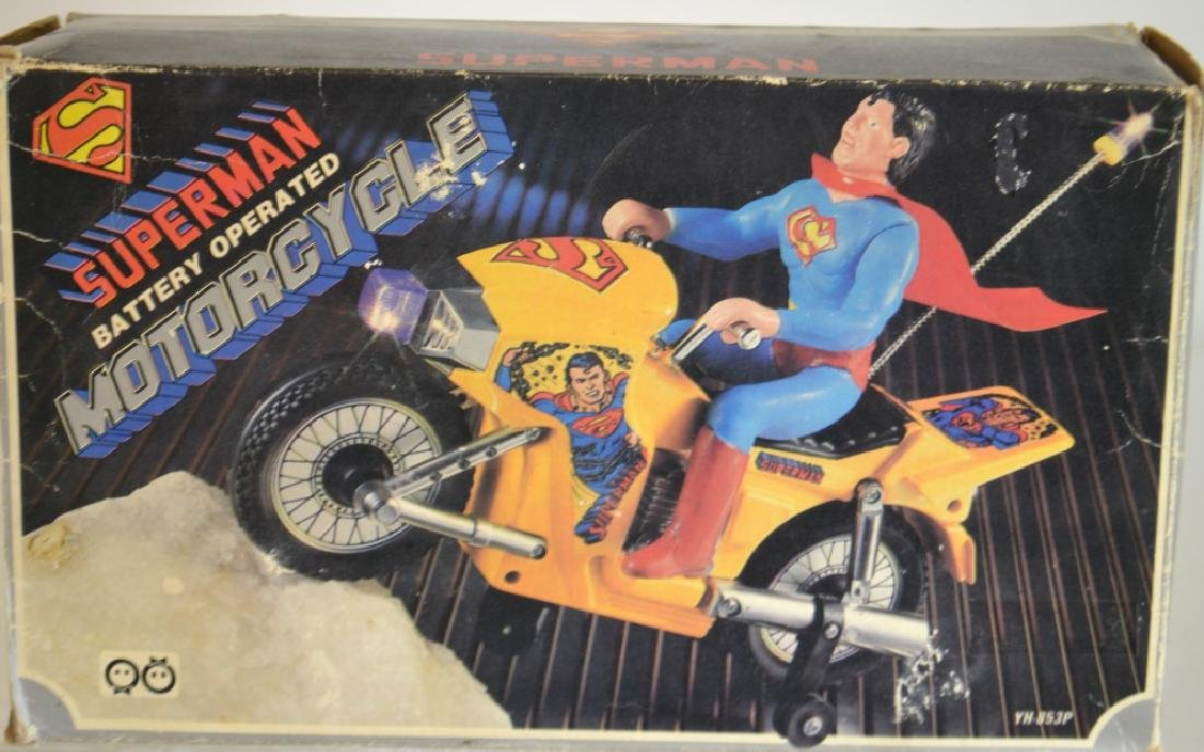 Superman Battery Operated Motorcycle - 2