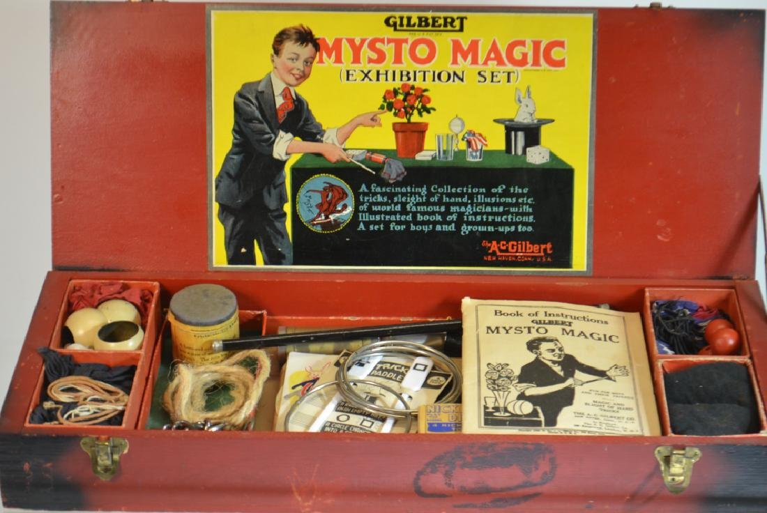Gilbert Mysto Magic Set - 2