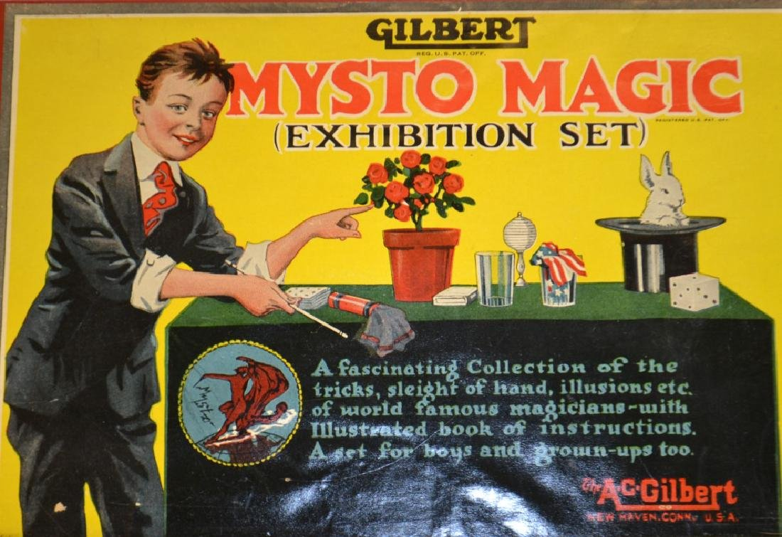 Gilbert Mysto Magic Set - 3