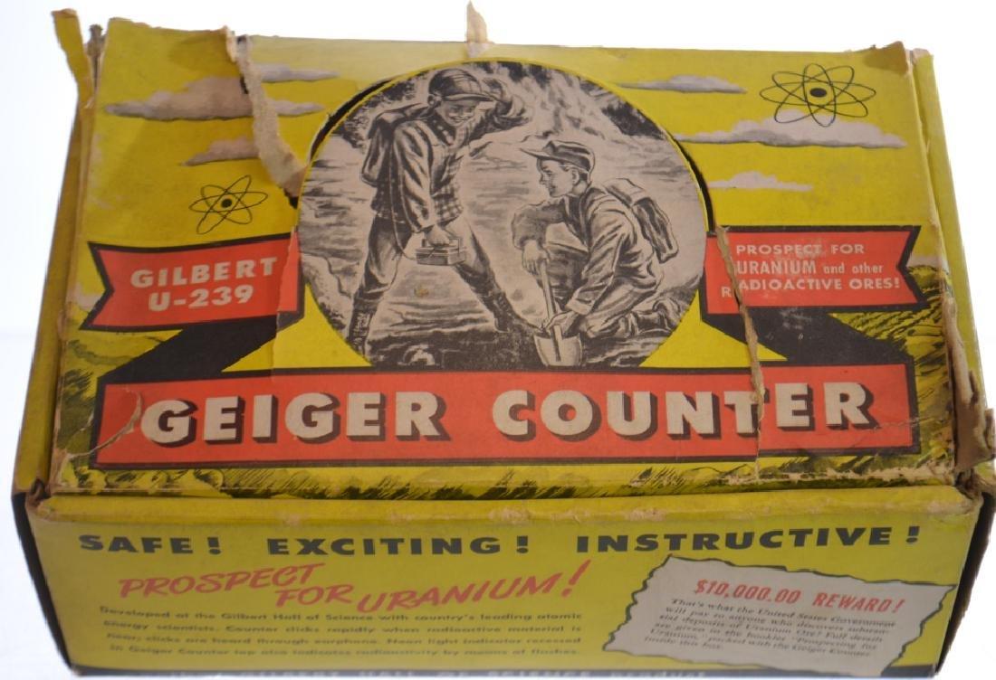 Gilbert Geiger Counter in Box