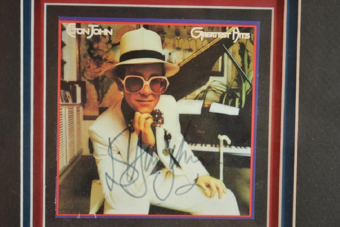 "Autographed CD ""Elton John's Greatest Hits"" - 2"