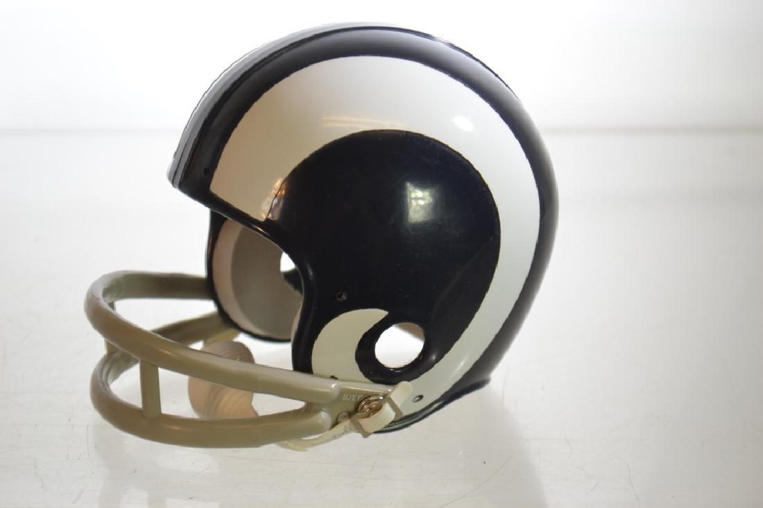 Autographed Deacon Jones Mini Helmet - 2